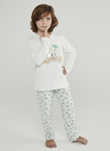 Penti Erkek Çocuk Çok Renkli Adventure Termal 2'li Pijama Takım PNPLGA1E20SK Renkli